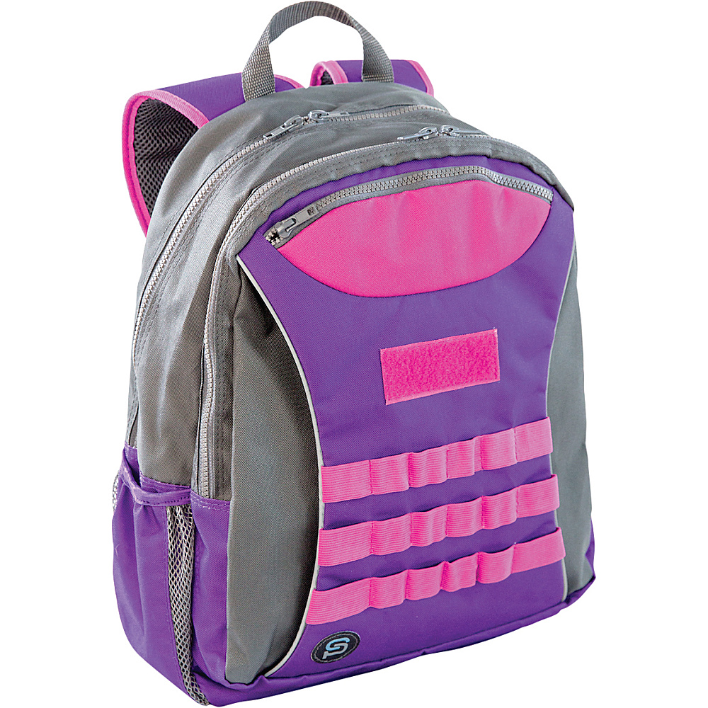 Sydney Paige Buy One Give One Taggart Backpack Purple Sydney Paige Everyday Backpacks