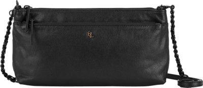 Elliott Lucca Solid 3 Way Demi Crossbody Black - Elliott Lucca Designer Handbags