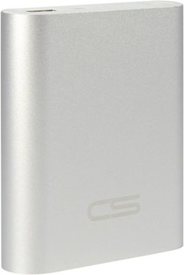 Carbon Sesto Brick Powerbank Aluminum Space Silver - Carbon Sesto Portable Batteries & Chargers