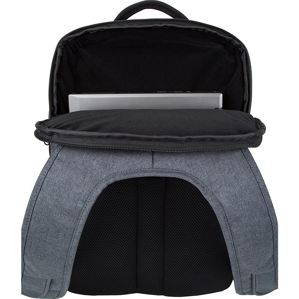 Travelon Anti-Theft Urban Backpack Black - Travelon Business & Laptop Backpacks
