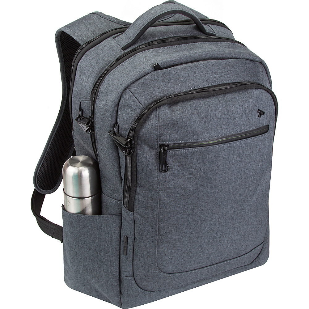 Travelon Anti-Theft Urban Backpack Slate - Travelon Business & Laptop Backpacks - Backpacks, Business & Laptop Backpacks
