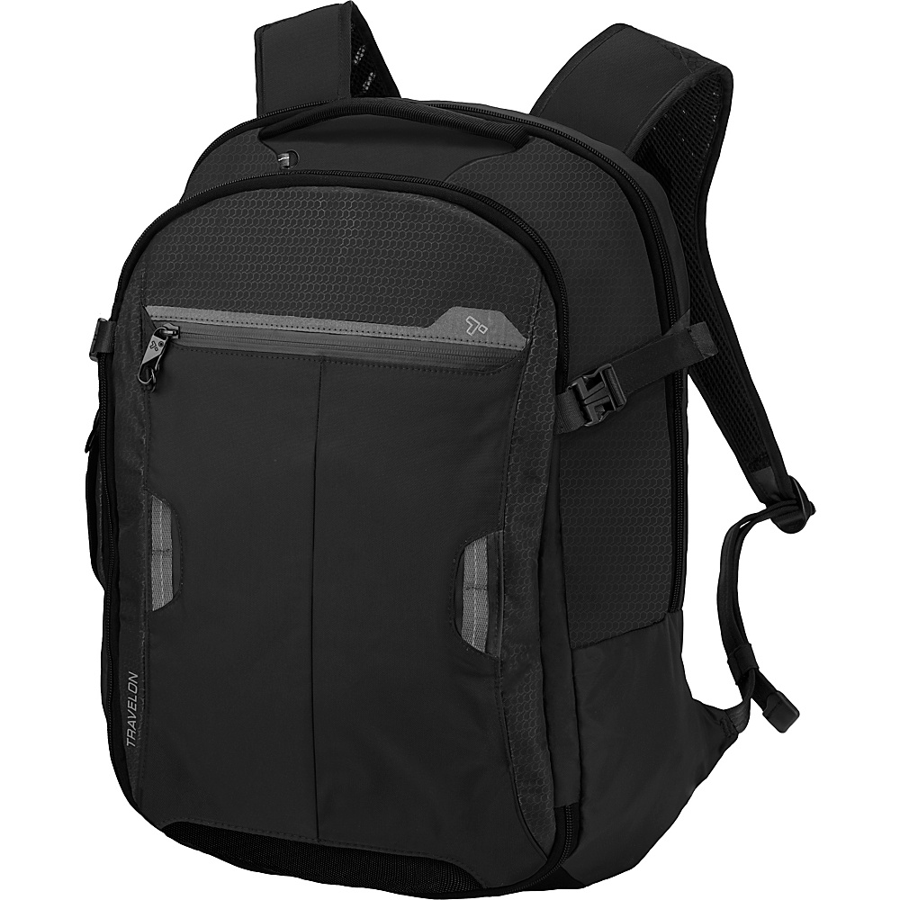 Travelon Anti-Theft Active Carry-on Backpack Black - Travelon Business & Laptop Backpacks - Backpacks, Business & Laptop Backpacks