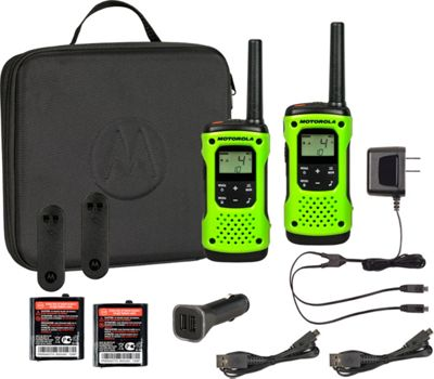 Motorola Solutions Talkabout T605 - 2 Pack Bundle Green - Motorola Solutions Electronic Accessories