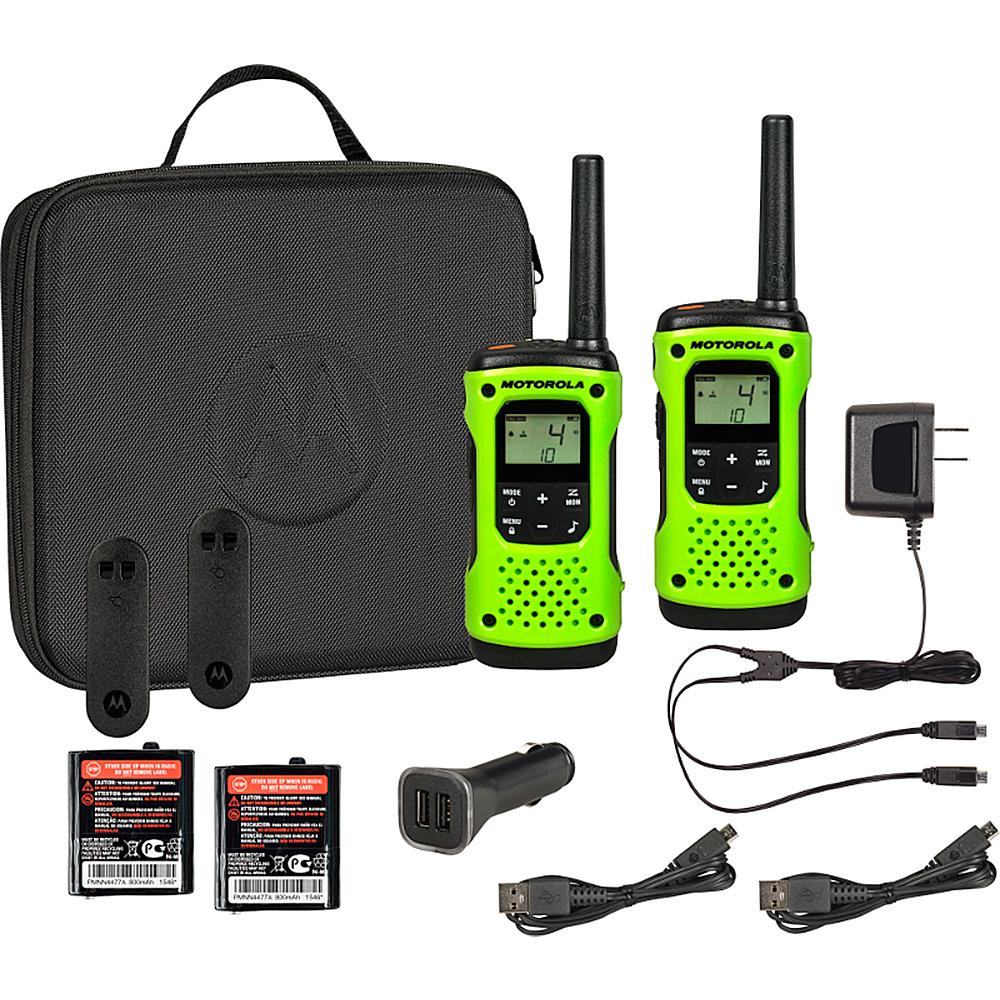 Motorola Solutions Talkabout T605 - 2 Pack Bundle Green -