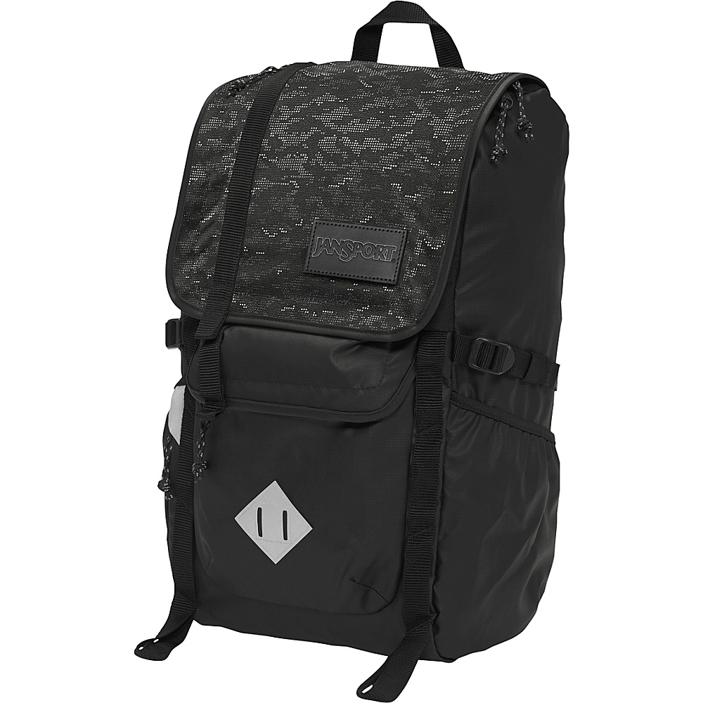 JanSport Hatchet Special Edition Laptop Backpack Black Dot Matrix - JanSport Business & Laptop Backpacks