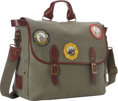 Pendleton Park Messenger Olive - Pendleton Messenger Bags