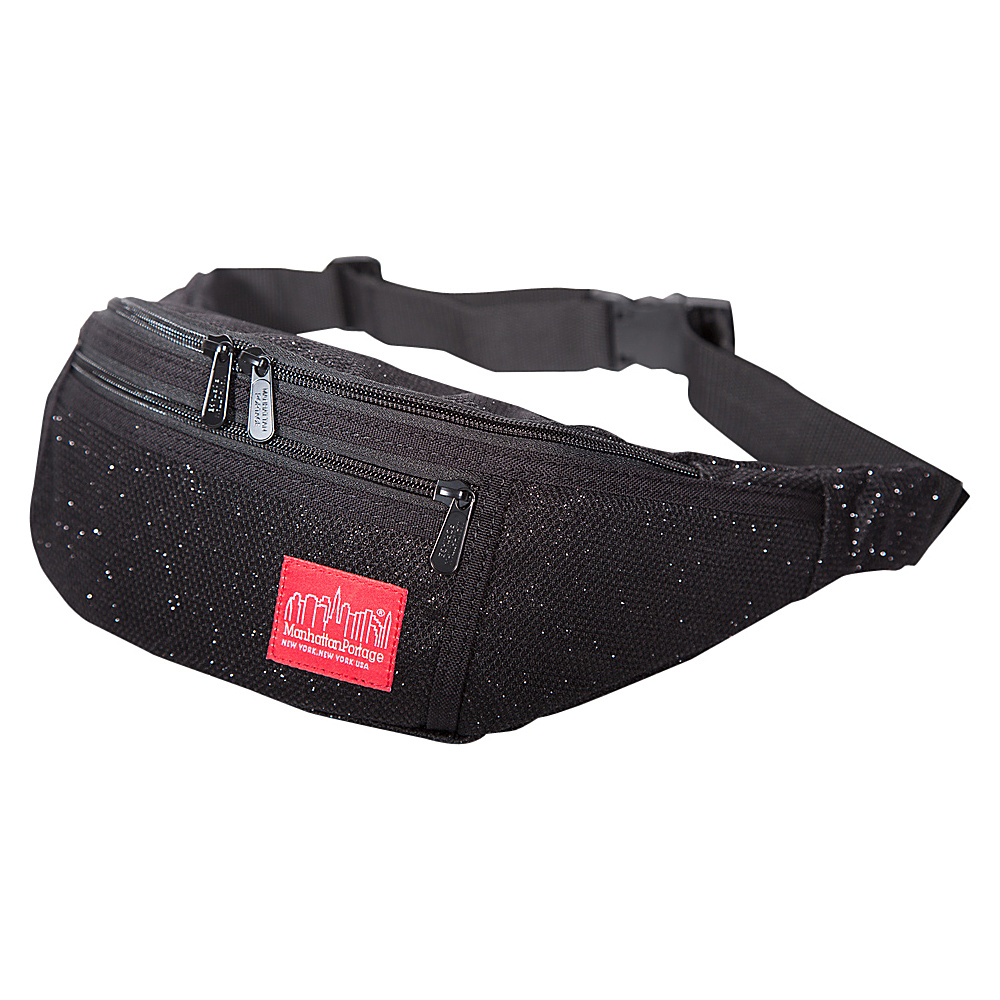 Manhattan Portage Midnight Alleycat Waistbag Black - Manhattan Portage Waist Packs - Backpacks, Waist Packs