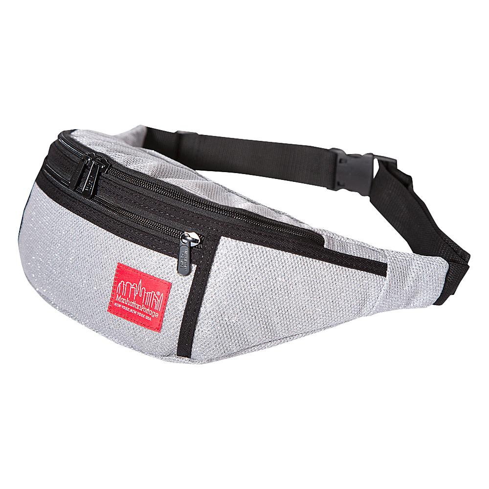 Manhattan Portage Midnight Alleycat Waistbag Gray - Manhattan Portage Waist Packs - Backpacks, Waist Packs