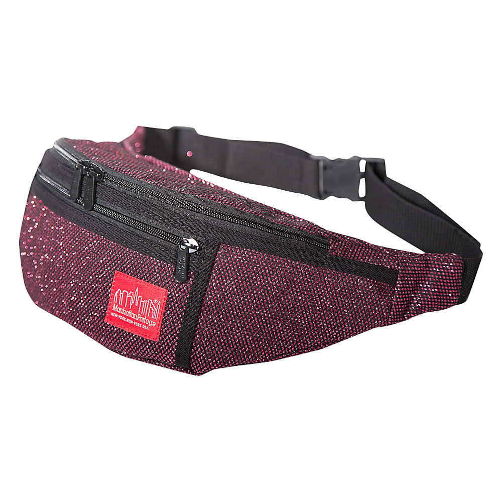 Manhattan Portage Midnight Alleycat Waistbag Burgundy - Manhattan Portage Waist Packs - Backpacks, Waist Packs