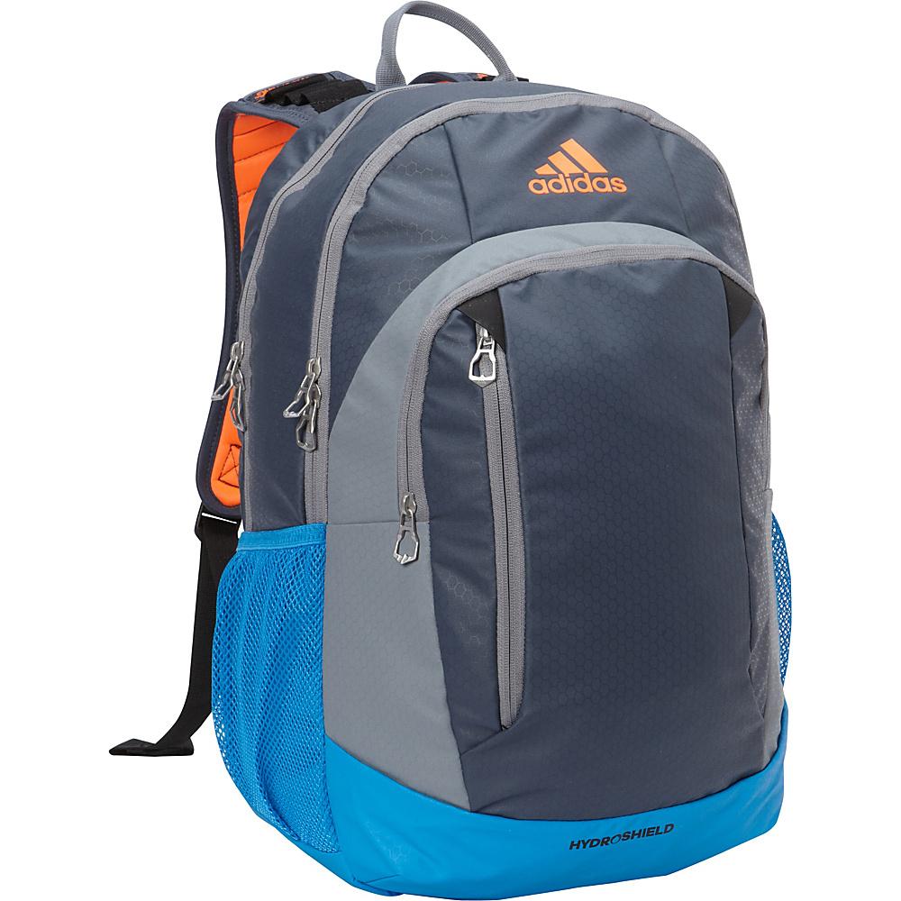 adidas Mission Backpack Deepest Space/Grey/Bright Blue/Solar Orange/Black - adidas Everyday Backpacks