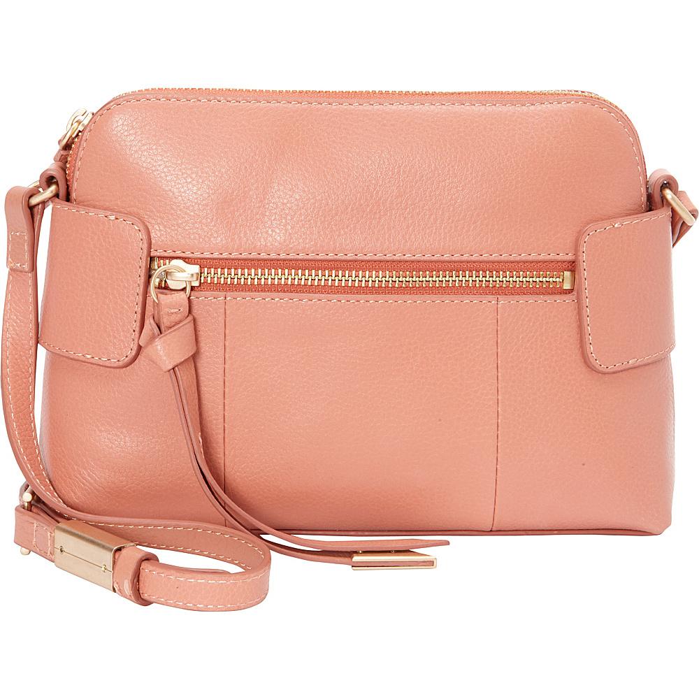 Foley Corinna Emma Crossbody Toasted Peach Foley Corinna Designer Handbags