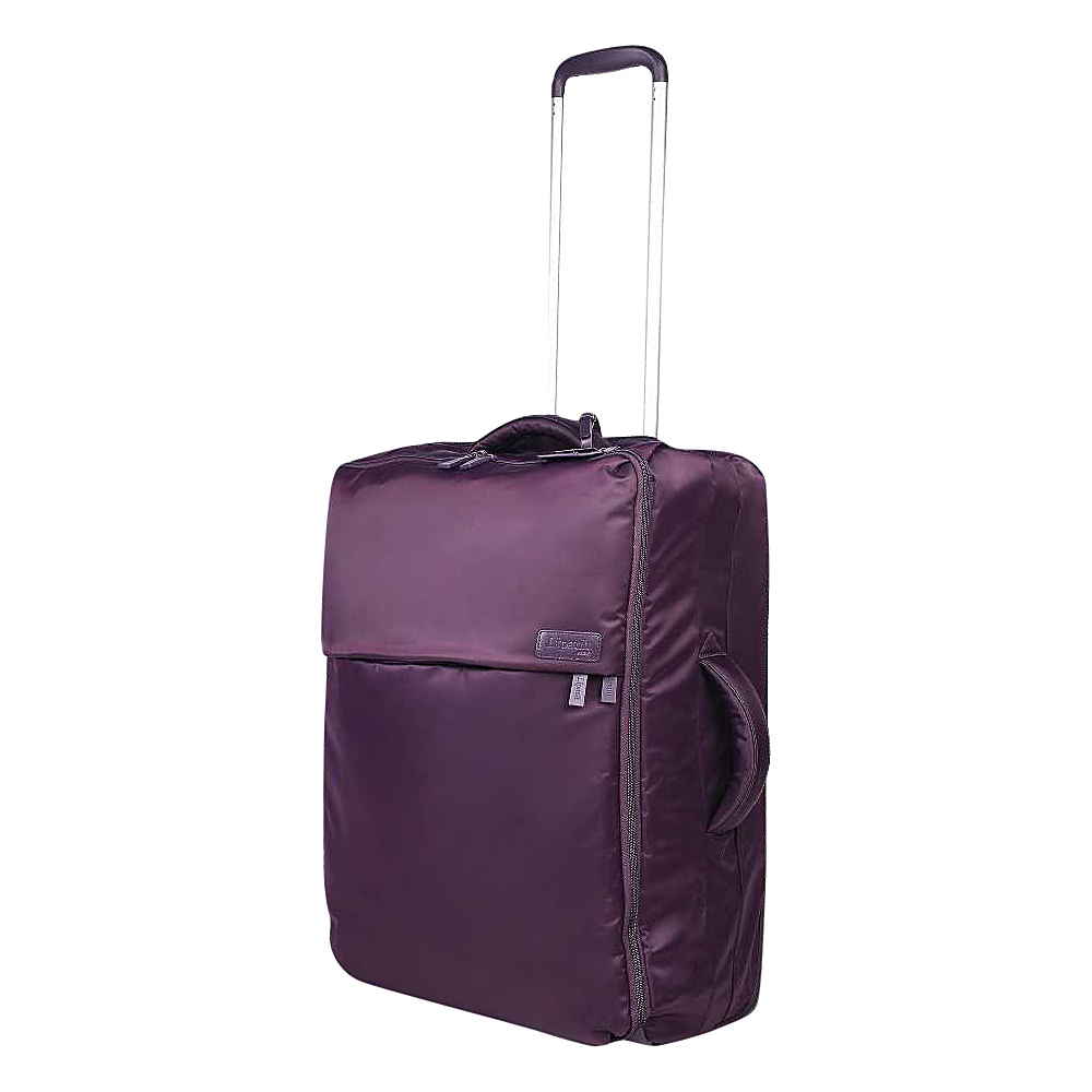 Lipault Paris Upright 24 Purple Lipault Paris Softside Checked