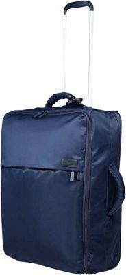 Lipault Paris 0% Pliable Upright 65/24 Luggage Navy - Lipault Paris Softside Checked