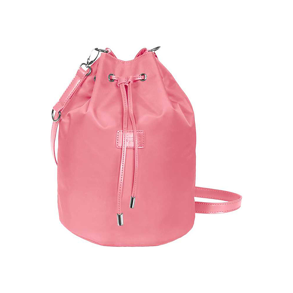 Lipault Paris Bucket Bag Medium Antique Pink Lipault Paris Fabric Handbags