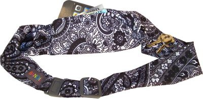 BANDI Wear Classic Pocket Belt Black Paisley - BANDI Wear Sports Accessories