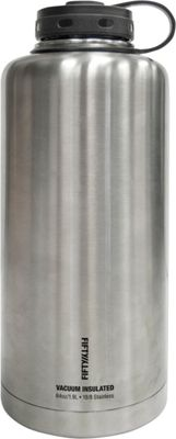 FIFTY/FIFTY Vacuum-Insulated Barrel Growler-64oz Stainless Steel - FIFTY/FIFTY Hydration Packs and Bottles