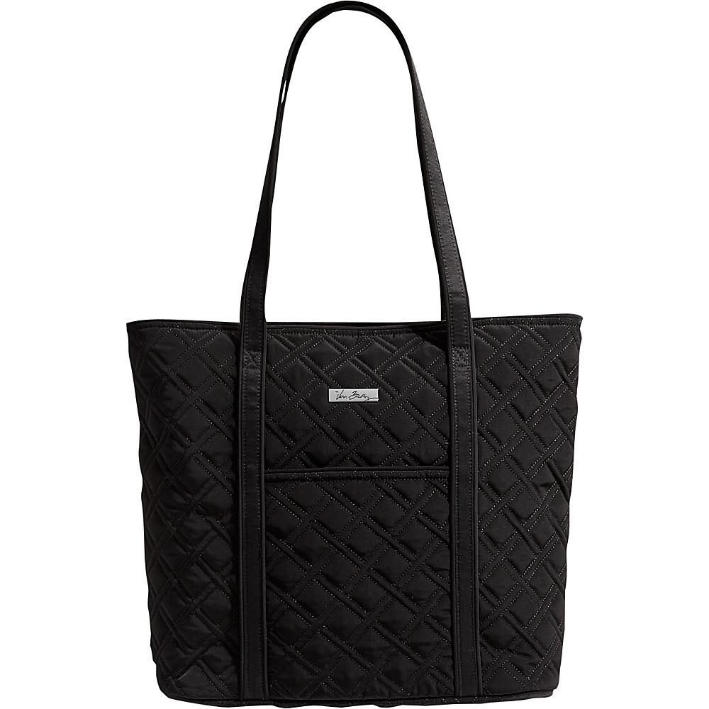 Vera Bradley Vera Tote Classic Black Vera Bradley Fabric Handbags