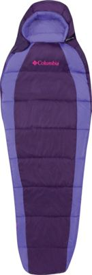 Columbia Sportswear Adult Mummy Bag Reg 40 Degrees Deep Purple - Columbia Sportswear Outdoor Accessories