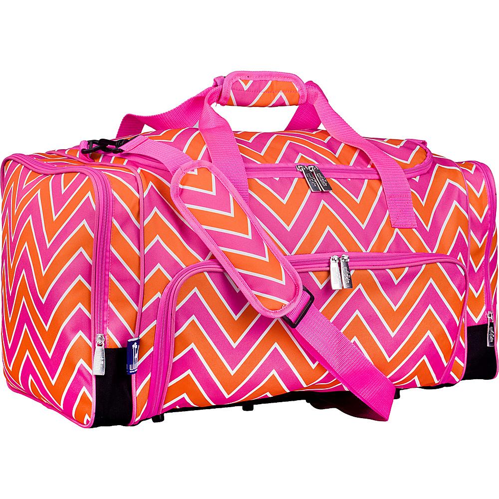 Wildkin Weekender Duffel Bag Zigzag Pink Wildkin Travel Duffels