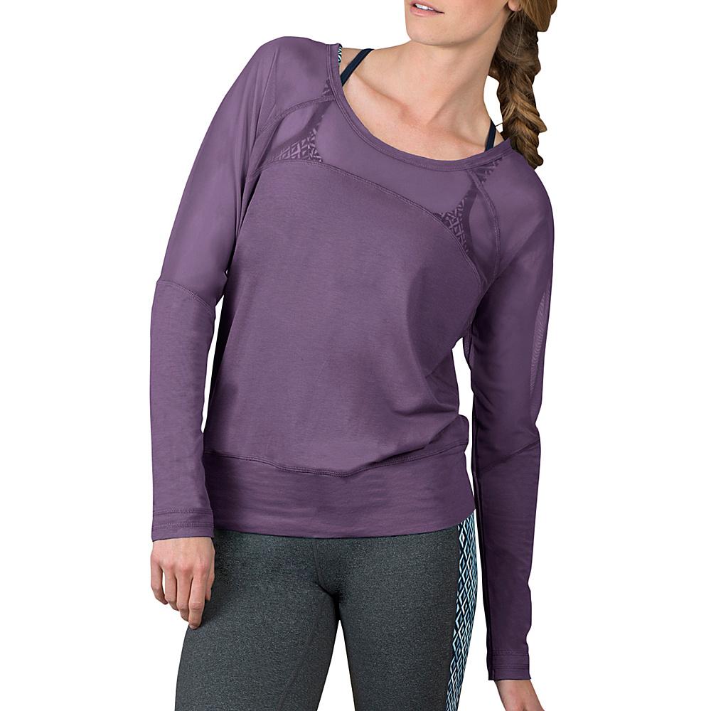 Soybu Suzette Dolman XL - Silver Plum - Soybu Womens Apparel - Apparel & Footwear, Women's Apparel