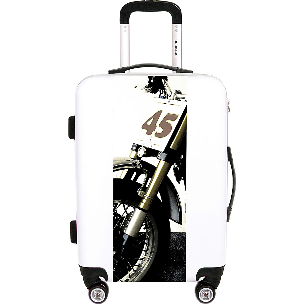 "Ugobags 45 By Ballack Art House 26.5"" Luggage 45 - Ugobags Softside Checked"