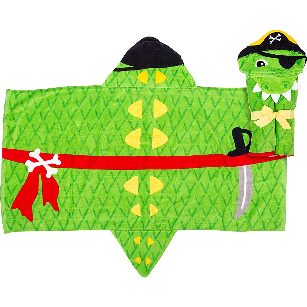 Stephen Joseph Hooded Towel Alligator 2 - Stephen Joseph Travel Health & Beauty - Travel Accessories, Travel Health & Beauty