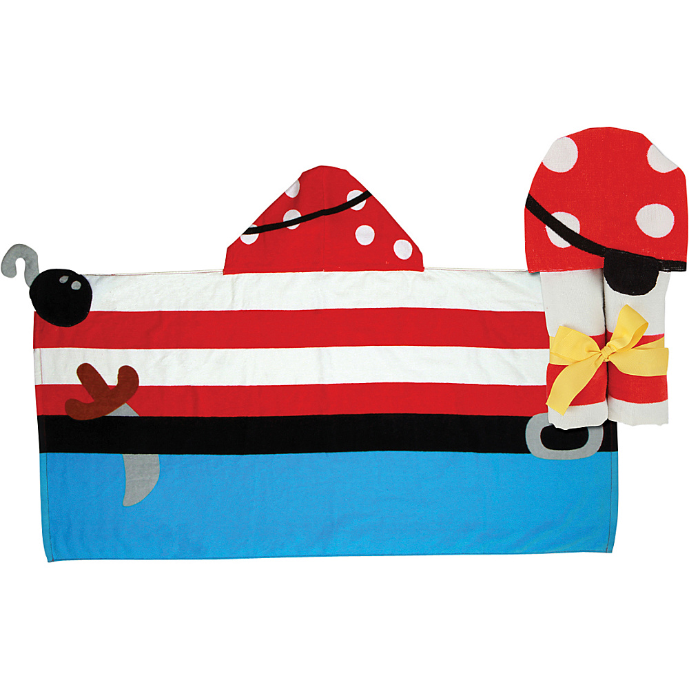 Stephen Joseph Hooded Towel Pirate - Stephen Joseph Travel Health & Beauty - Travel Accessories, Travel Health & Beauty