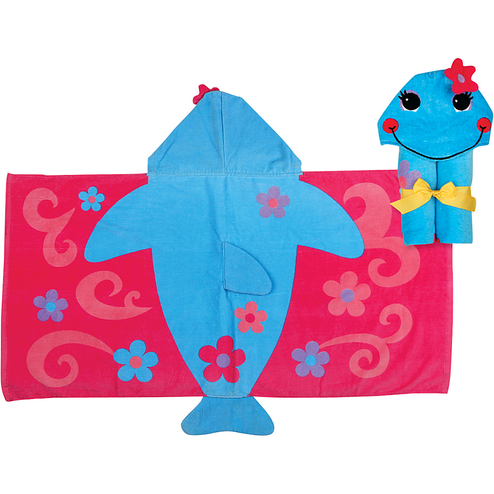 Stephen Joseph Hooded Towel Dolphin - Stephen Joseph Travel Health & Beauty - Travel Accessories, Travel Health & Beauty