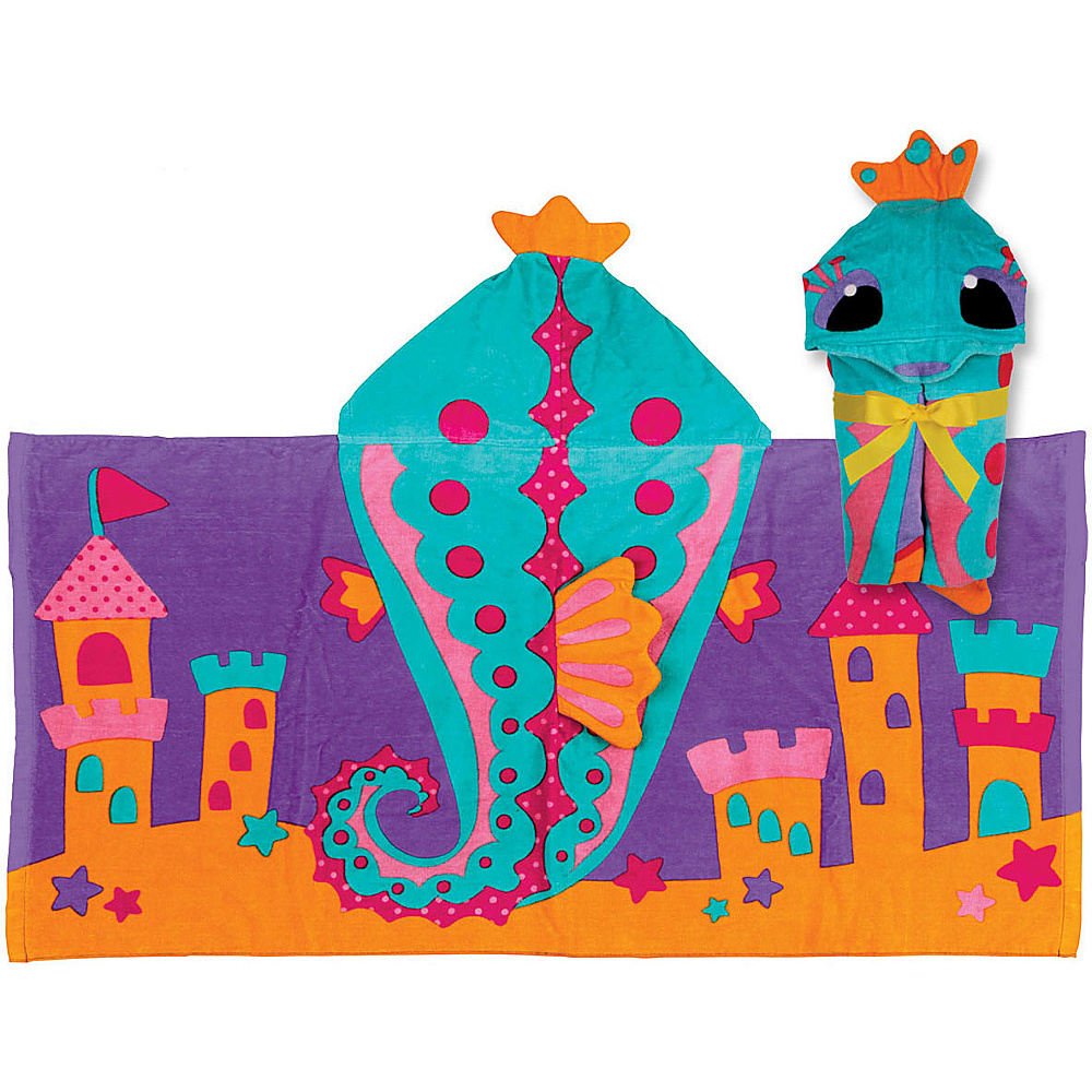Stephen Joseph Hooded Towel Seahorse - Stephen Joseph Travel Health & Beauty - Travel Accessories, Travel Health & Beauty