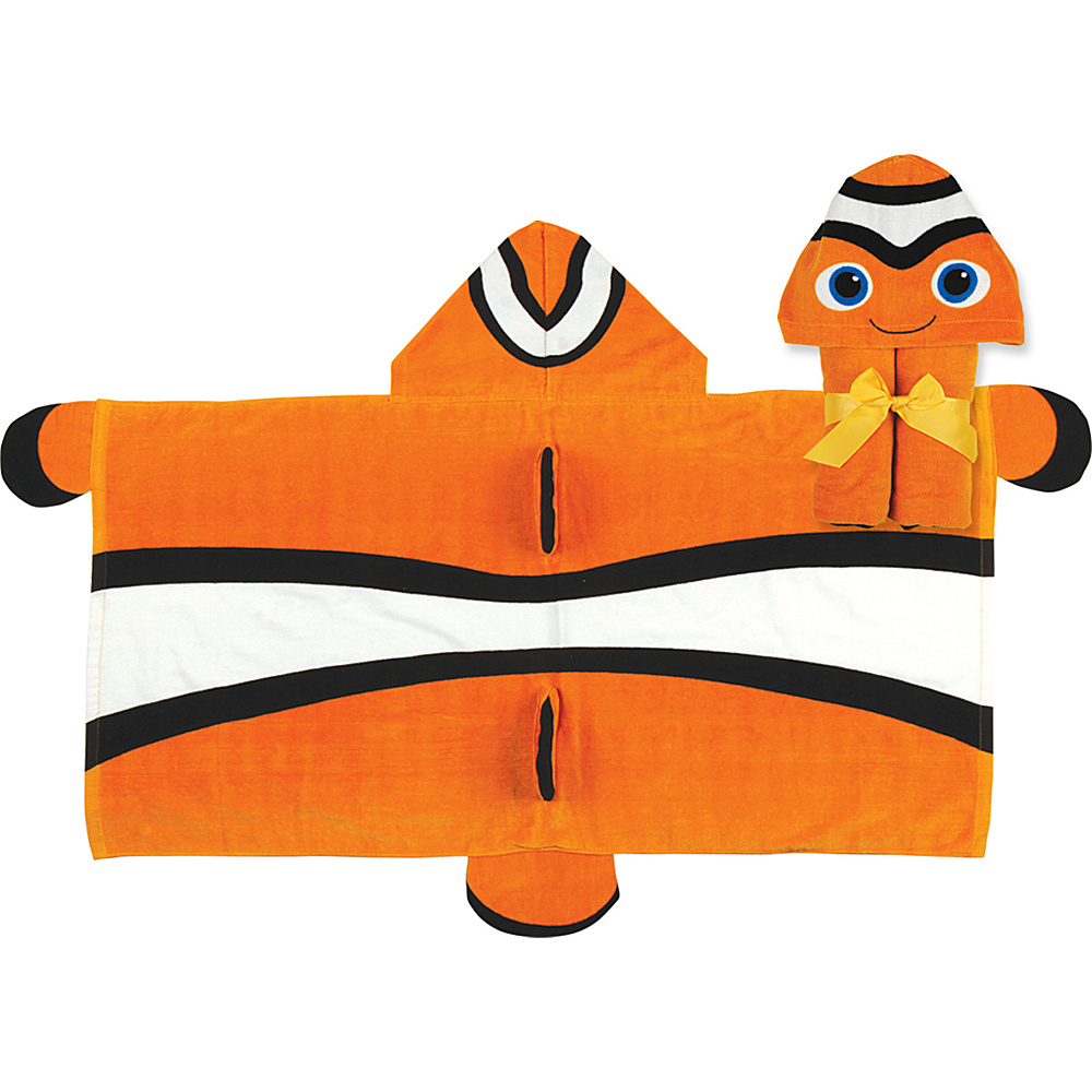 Stephen Joseph Hooded Towel Clownfish Stephen Joseph Travel Health Beauty