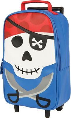 Stephen Joseph Kids Rolling Backpack Pirate - Stephen Joseph Rolling Backpacks 10461937
