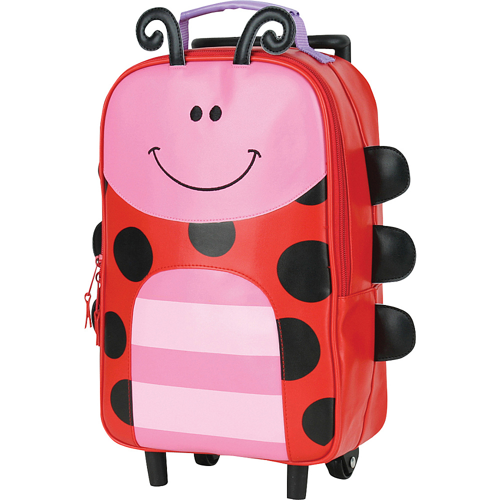 Stephen Joseph Kids Rolling Backpack Ladybug - Stephen Joseph Rolling Backpacks - Backpacks, Rolling Backpacks