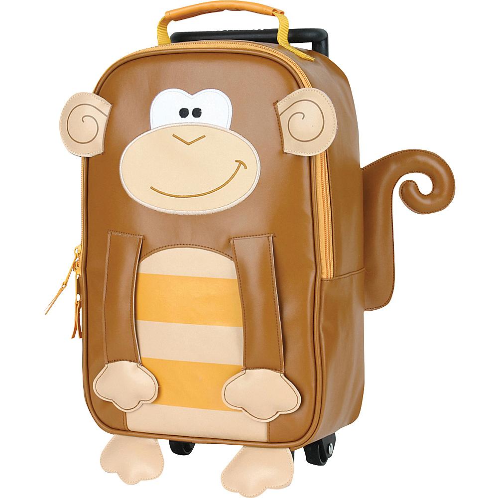 Stephen Joseph Kids Rolling Backpack Monkey - Stephen Joseph Rolling Backpacks - Backpacks, Rolling Backpacks