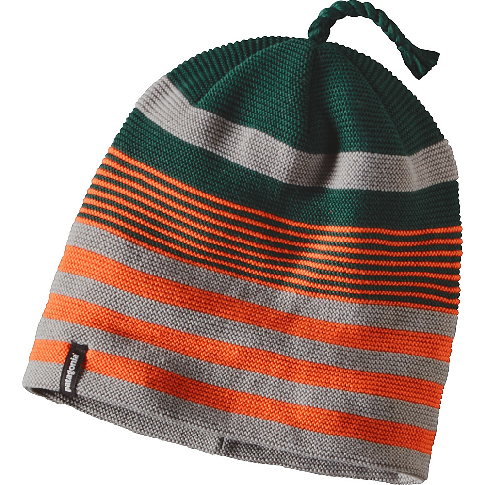Patagonia Glade Beanie One Size - Spindrift Stripe: Legend Green - Patagonia Hats/Gloves/Scarves - Fashion Accessories, Hats/Gloves/Scarves