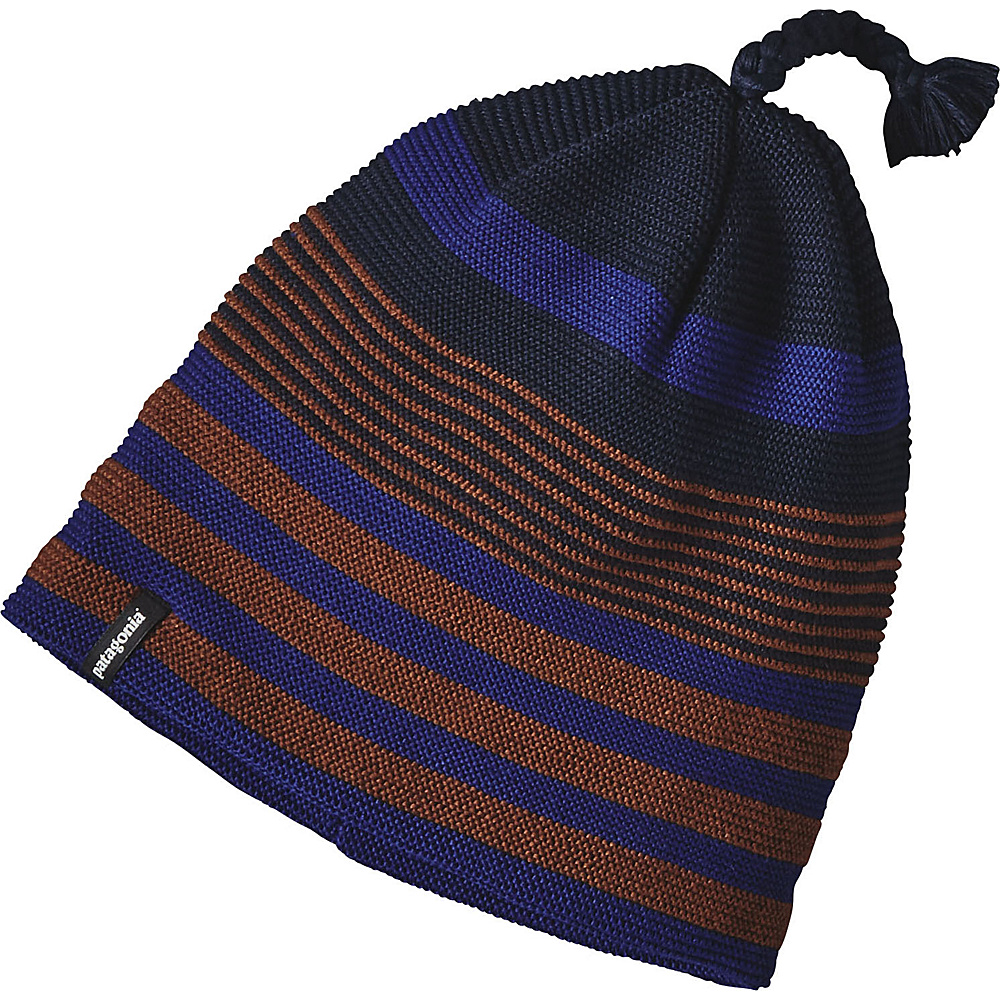 Patagonia Glade Beanie One Size - Spindrift Stripe: Navy Blue - Patagonia Hats/Gloves/Scarves - Fashion Accessories, Hats/Gloves/Scarves