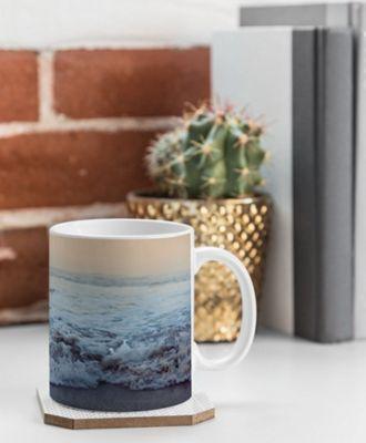 Deny Designs Leah Flores Coffee Mug Ocean Blue - Crash into Me - Deny Designs Outdoor Accessories
