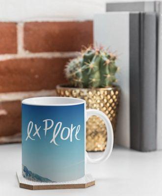 Deny Designs Leah Flores Coffee Mug Ice Blue - Explore - Deny Designs Outdoor Accessories