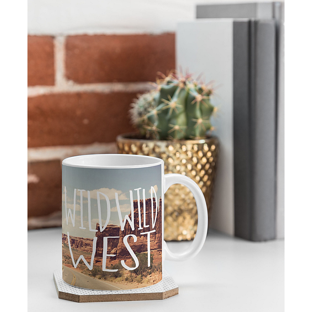 DENY Designs Leah Flores Coffee Mug Desert Wild Wild West DENY Designs Outdoor Accessories