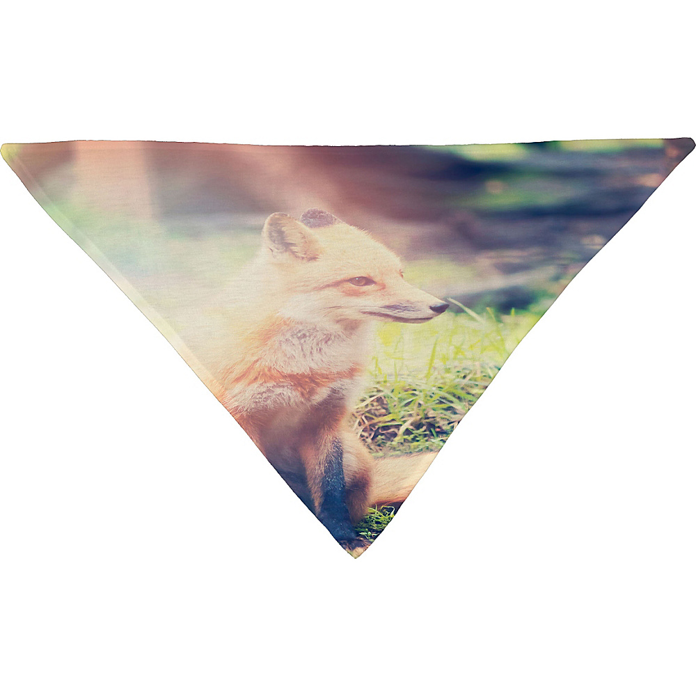 DENY Designs Maybe Sparrow Photography Pet Bandana Grass Sunny Fox DENY Designs Pet Bags