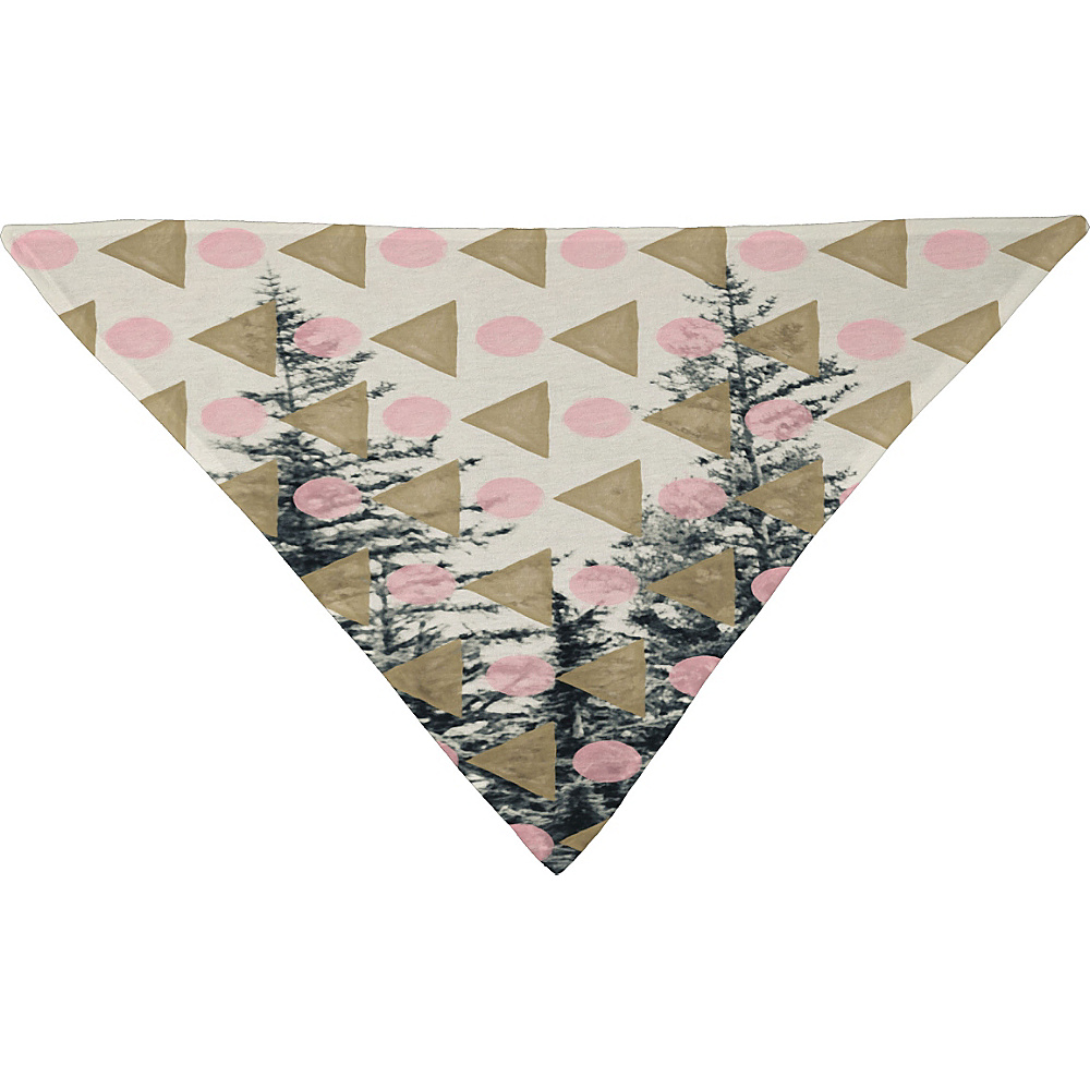 DENY Designs Maybe Sparrow Photography Pet Bandana Baby Pink Through the Geometric Trees DENY Designs Pet Bags