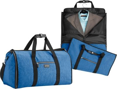 biaggi Hangeroo Garment Bag and Duffel Winter Blue - biaggi Garment Bags