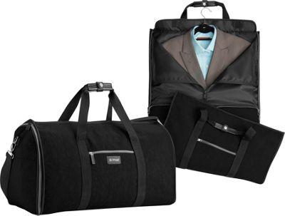 biaggi Hangeroo Garment Bag and Duffel Black - biaggi Garment Bags