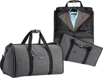 biaggi Hangeroo Garment Bag and Duffel Grey - biaggi Garment Bags
