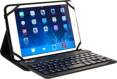 M-Edge Folio Plus Pro Keyboard for 7 inch-8 inch Devices Black - M-Edge Electronic Cases