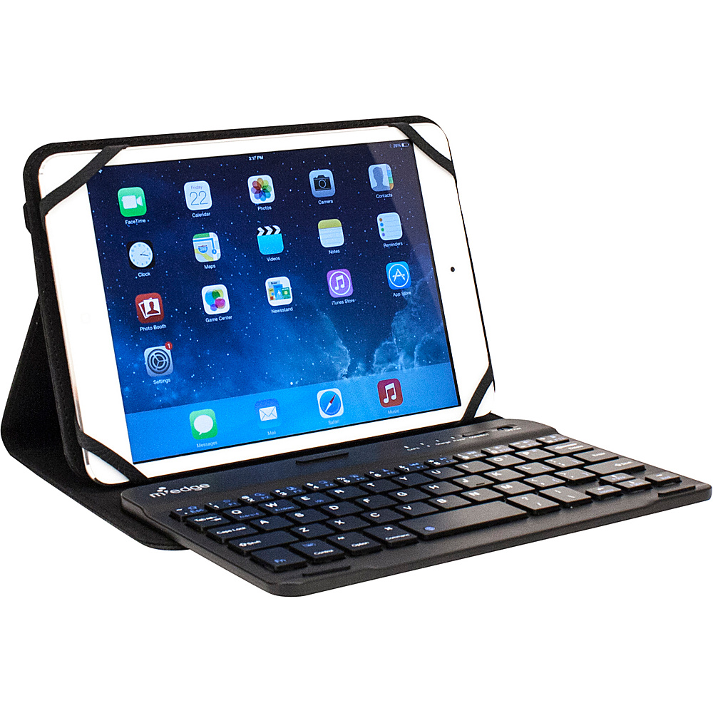 M Edge Folio Plus Pro Keyboard for 7 8 Devices Black M Edge Electronic Cases