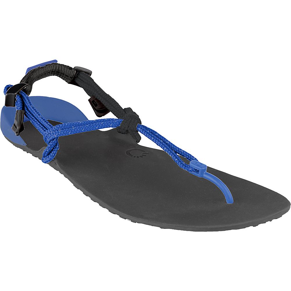 Xero Shoes Amuri Venture Mens Lightweight Performance Recreation Sandal 14 Coal Black Royal Blue Xero Shoes Men s Footwear