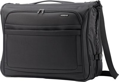 American Tourister iLite Max Ultra Valet Garment Bag Black - American Tourister Garment Bags
