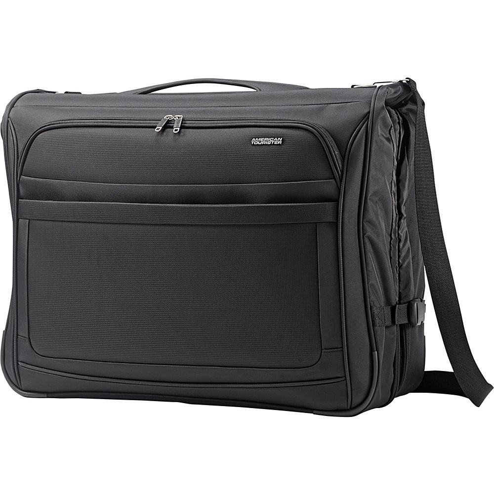 American Tourister iLite Max Ultra Valet Garment Bag Black American Tourister Garment Bags