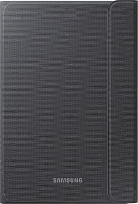 Samsung - Ingram Canvas Book Cover for Galaxy Tab A 8 inch Tablet Dark Titanium - Samsung - Ingram Electronic Cases