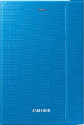 Samsung - Ingram Canvas Book Cover for Galaxy Tab A 8 inch Tablet Solid Blue - Samsung - Ingram Electronic Cases